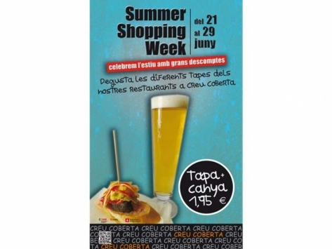 Creu Coberta us convida a la Summer Shopping Week