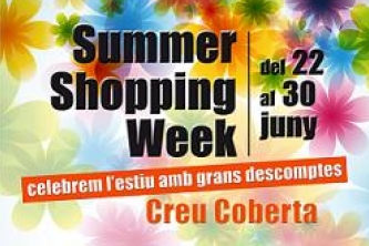 "CREU COBERTA US CONVIDA AL ""SUMMER SHOPPING WEEK"""